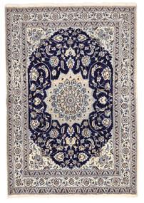 Nain Matto 168X246 Itämainen Käsinsolmittu Tummanharmaa/Vaaleanharmaa (Villa, Persia/Iran)