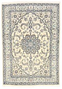 Nain Matto 165X238 Itämainen Käsinsolmittu Beige/Vaaleanharmaa (Villa, Persia/Iran)