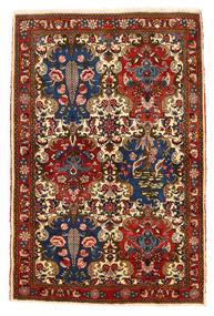 Bakhtiar Collectible Matto 111X166 Itämainen Käsinsolmittu Tummanpunainen/Tummanruskea (Villa, Persia/Iran)