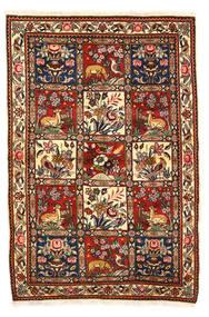 Bakhtiar Collectible Matto 115X170 Itämainen Käsinsolmittu Tummanruskea/Valkoinen/Creme (Villa, Persia/Iran)