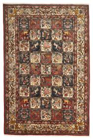Bakhtiar Collectible Matto 207X313 Itämainen Käsinsolmittu Tummanruskea/Vaaleanruskea (Villa, Persia/Iran)