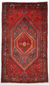 Zanjan Matto 128X220 Itämainen Käsinsolmittu Tummanpunainen/Ruoste (Villa, Persia/Iran)