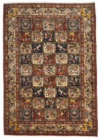 Bakhtiar Collectible Matto 221X310 Itämainen Käsinsolmittu Tummanruskea/Vaaleanruskea (Villa, Persia/Iran)