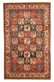 Bakhtiar Collectible Matto 202X331 Itämainen Käsinsolmittu Tummanpunainen/Tummanruskea (Villa, Persia/Iran)