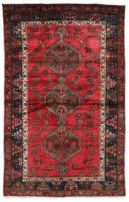 Hamadan Matto 127X202 Itämainen Käsinsolmittu Tummanpunainen/Musta (Villa, Persia/Iran)