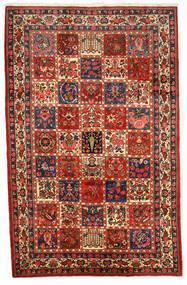 Bakhtiar Collectible Matto 200X309 Itämainen Käsinsolmittu Tummanpunainen/Tummanruskea (Villa, Persia/Iran)