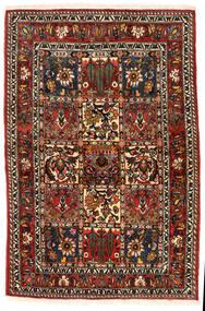 Bakhtiar Collectible Matto 108X162 Itämainen Käsinsolmittu Tummanruskea/Vaaleanruskea (Villa, Persia/Iran)