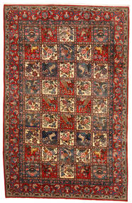 Bakhtiar Collectible Matto 200X313 Itämainen Käsinsolmittu Tummanharmaa/Tummanruskea (Villa, Persia/Iran)
