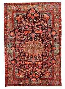 Nahavand Old Matto 158X230 Itämainen Käsinsolmittu Tummanpunainen/Ruoste (Villa, Persia/Iran)