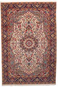 Kerman Matto 201X301 Itämainen Käsinsolmittu Tummanpunainen/Beige (Villa, Persia/Iran)