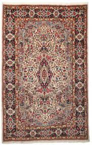 Kerman Matto 198X308 Itämainen Käsinsolmittu Tummanruskea/Tummanpunainen (Villa, Persia/Iran)
