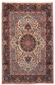Kerman Matto 180X281 Itämainen Käsinsolmittu Tummanpunainen/Tummanruskea (Villa, Persia/Iran)
