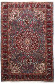 Kerman Matto 177X271 Itämainen Käsinsolmittu Tummanpunainen/Musta (Villa, Persia/Iran)