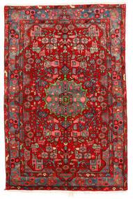 Nahavand Old Matto 158X234 Itämainen Käsinsolmittu Tummanpunainen/Ruoste (Villa, Persia/Iran)
