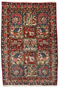 Bakhtiar Collectible Matto 107X156 Itämainen Käsinsolmittu Tummanruskea/Tummanpunainen (Villa, Persia/Iran)