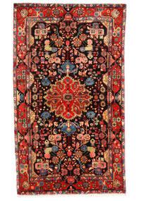 Nahavand Old Matto 150X258 Itämainen Käsinsolmittu Tummanruskea/Tummanpunainen (Villa, Persia/Iran)