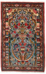 Bakhtiar Collectible Matto 103X158 Itämainen Käsinsolmittu Tummanruskea/Tumma Turkoosi (Villa, Persia/Iran)