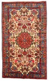 Nahavand Old Matto 154X262 Itämainen Käsinsolmittu Tummanharmaa/Tummanpunainen (Villa, Persia/Iran)