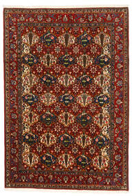 Bakhtiar Collectible Matto 207X300 Itämainen Käsinsolmittu Tummanruskea/Tummanpunainen (Villa, Persia/Iran)