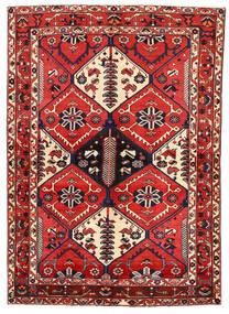 Bakhtiar Matto 162X227 Itämainen Käsinsolmittu Tummanvioletti/Tummanpunainen (Villa, Persia/Iran)