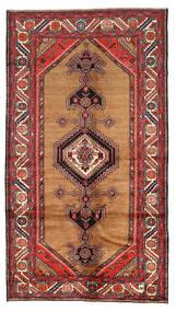 Koliai Matto 137X250 Itämainen Käsinsolmittu Ruoste/Tummanruskea (Villa, Persia/Iran)