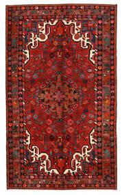 Asadabad Matto 153X259 Itämainen Käsinsolmittu Tummanpunainen/Tummanruskea (Villa, Persia/Iran)