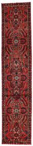 Mehraban Matto 81X392 Itämainen Käsinsolmittu Käytävämatto Tummanpunainen/Tummanruskea (Villa, Persia/Iran)