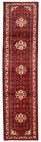 Hosseinabad Matto 83X267 Itämainen Käsinsolmittu Käytävämatto Tummanpunainen/Punainen (Villa, Persia/Iran)