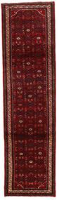 Hosseinabad Matto 84X278 Itämainen Käsinsolmittu Käytävämatto Tummanpunainen/Punainen (Villa, Persia/Iran)