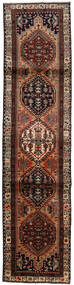 Ardebil Matto 75X314 Itämainen Käsinsolmittu Käytävämatto Tummanruskea/Vaaleanruskea (Villa, Persia/Iran)