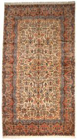 Kerman Ca. 1980 Matto 360X665 Itämainen Käsinsolmittu Tummanharmaa/Punainen Isot (Villa, Persia/Iran)