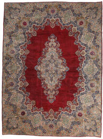 Kerman Ca. 1980 Matto 450X600 Itämainen Käsinsolmittu Tummanpunainen/Vaaleanharmaa Isot (Villa, Persia/Iran)