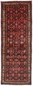 Hosseinabad Matto 70X188 Itämainen Käsinsolmittu Käytävämatto Tummanpunainen/Tummanruskea (Villa, Persia/Iran)