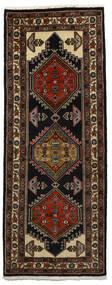 Ardebil Matto 68X180 Itämainen Käsinsolmittu Käytävämatto Tummanruskea/Tummanpunainen (Villa, Persia/Iran)