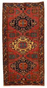 Ardebil Matto 148X293 Itämainen Käsinsolmittu Käytävämatto Tummanruskea/Ruoste (Villa, Persia/Iran)