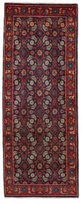 Mahal Matto 64X164 Itämainen Käsinsolmittu Käytävämatto Tummanpunainen/Tummansininen (Villa, Persia/Iran)