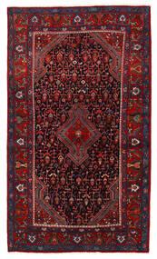 Nahavand Matto 123X210 Itämainen Käsinsolmittu Tummanpunainen/Tummanruskea (Villa, Persia/Iran)