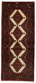 Hosseinabad Matto 72X170 Itämainen Käsinsolmittu Käytävämatto Tummanpunainen/Tummanruskea (Villa, Persia/Iran)
