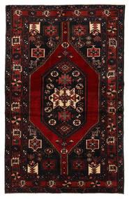 Bakhtiar Matto 132X210 Itämainen Käsinsolmittu Tummanruskea/Tummanpunainen (Villa, Persia/Iran)