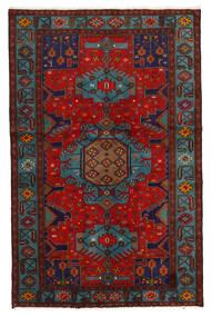 Koliai Matto 125X201 Itämainen Käsinsolmittu Tummanpunainen/Tummanruskea (Villa, Persia/Iran)