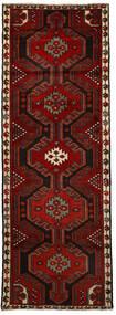 Hosseinabad Matto 76X216 Itämainen Käsinsolmittu Käytävämatto Tummanpunainen/Punainen (Villa, Persia/Iran)