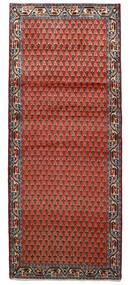 Sarough Mir Matto 78X194 Itämainen Käsinsolmittu Käytävämatto Ruoste/Tummanpunainen/Tummanruskea (Villa, Persia/Iran)