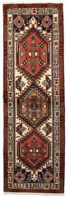 Ardebil Matto 62X192 Itämainen Käsinsolmittu Käytävämatto Tummanruskea/Tummanpunainen (Villa, Persia/Iran)