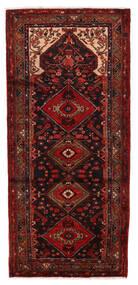 Hamadan Matto 118X236 Itämainen Käsinsolmittu Tummanpunainen (Villa, Persia/Iran)