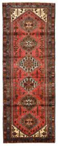 Hamadan Matto 102X275 Itämainen Käsinsolmittu Käytävämatto Tummanpunainen/Punainen (Villa, Persia/Iran)