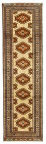 Mehraban Matto 78X291 Itämainen Käsinsolmittu Käytävämatto Ruskea/Tummanruskea (Villa, Persia/Iran)