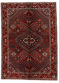 Bakhtiar Matto 142X200 Itämainen Käsinsolmittu Tummanpunainen (Villa, Persia/Iran)