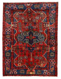 Nahavand Matto 149X202 Itämainen Käsinsolmittu Ruoste/Tummanpunainen/Tummanharmaa (Villa, Persia/Iran)