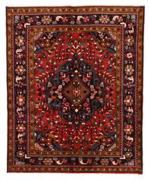 Lillian Matto 167X203 Itämainen Käsinsolmittu Tummanpunainen/Tummanruskea (Villa, Persia/Iran)