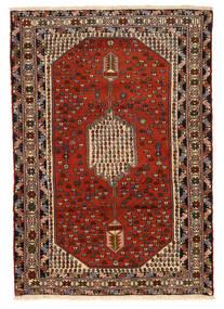 Hamadan Matto 130X187 Itämainen Käsinsolmittu Tummanruskea/Ruoste (Villa, Persia/Iran)